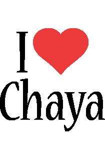 Chaya i-love logo