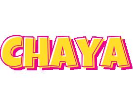 Chaya kaboom logo