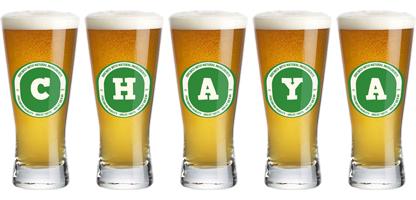 Chaya lager logo
