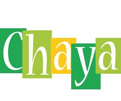 Chaya lemonade logo