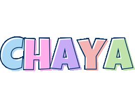 Chaya pastel logo