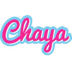 Chaya popstar logo