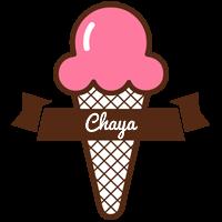 Chaya premium logo