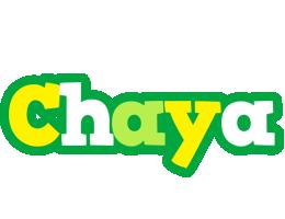 Chaya soccer logo