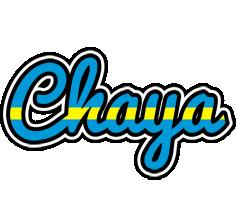 Chaya sweden logo