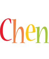 Chen birthday logo