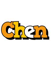 Chen cartoon logo