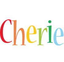 Cherie birthday logo