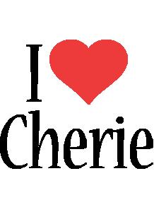 Cherie i-love logo