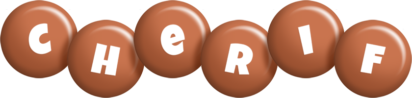 Cherif candy-brown logo