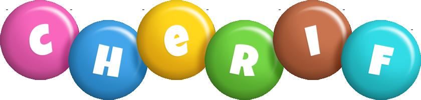 Cherif candy logo
