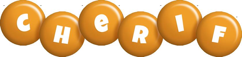 Cherif candy-orange logo