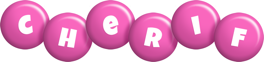 Cherif candy-pink logo
