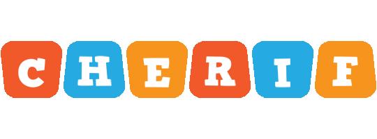 Cherif comics logo