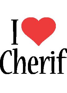 Cherif i-love logo