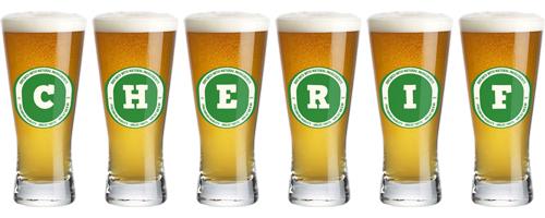 Cherif lager logo