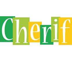 Cherif lemonade logo