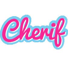 Cherif popstar logo
