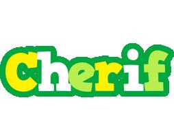 Cherif soccer logo