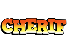 Cherif sunset logo