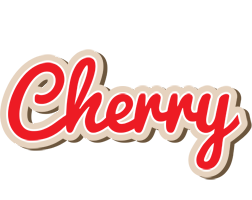 Cherry chocolate logo