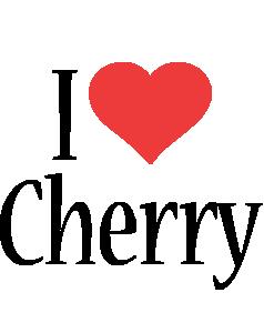 Cherry i-love logo