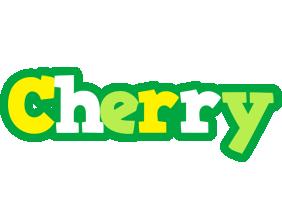 Cherry soccer logo