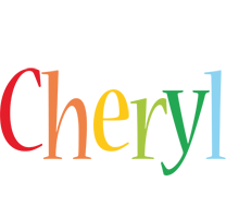 Cheryl birthday logo