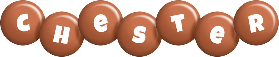 Chester candy-brown logo