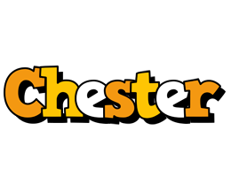 Chester cartoon logo