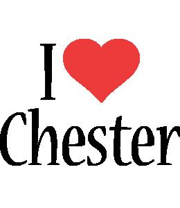 Chester i-love logo