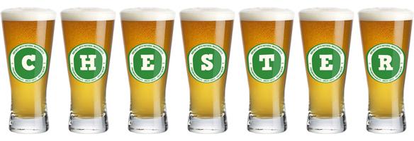 Chester lager logo