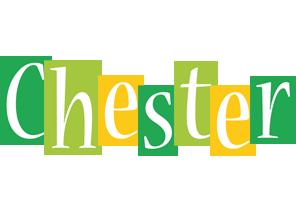 Chester lemonade logo