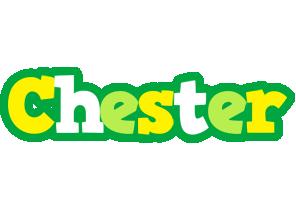 Chester soccer logo