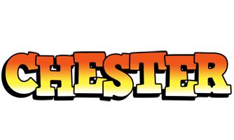 Chester sunset logo