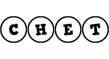 Chet handy logo