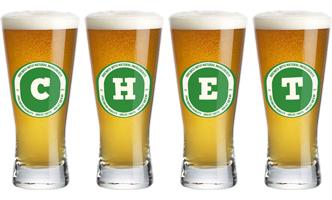 Chet lager logo