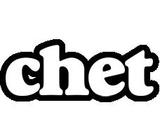 Chet panda logo