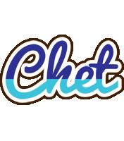Chet raining logo