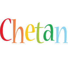 Chetan birthday logo