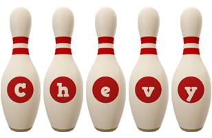 Chevy bowling-pin logo