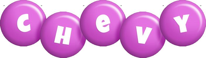 Chevy candy-purple logo