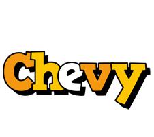 Chevy cartoon logo
