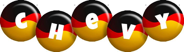 Chevy german logo