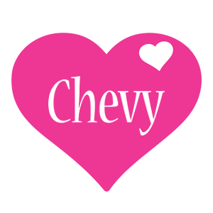 Chevy love-heart logo