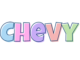 Chevy pastel logo