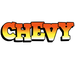 Chevy sunset logo
