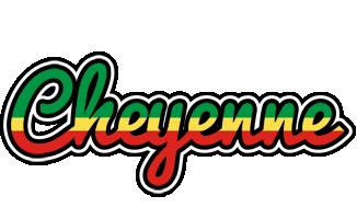 Cheyenne african logo