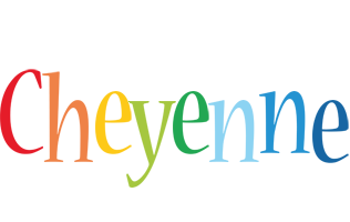 Cheyenne birthday logo