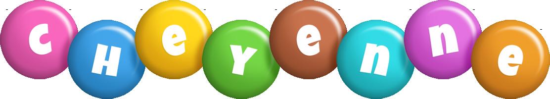 Cheyenne candy logo